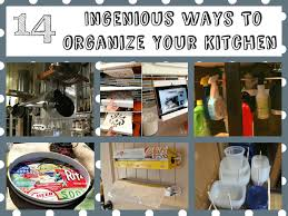 Diy Kitchen Organization Ideas Ingenious Ways To Organize Your Kitchen