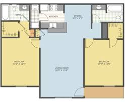 Watermark Floor Plan Watermark Roanoke Tx Apartment Finder