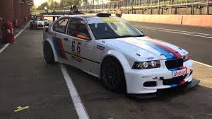 bmw e36 race car for sale bmw m3 e36 compact 3 2 s52 engine britcar endurance racing and