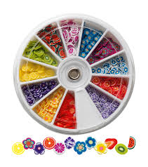 Nail Decorations Carousel For Nail Decorations Fruits U0026 Flowers Nail
