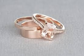 morganite wedding rings morganite engagement ring buying and cleaning guide