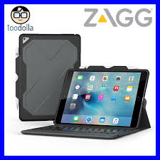 Rugged Ipad Case With Keyboard Zagg Rugged Messenger Folio Backlit Keyboard Case For Ipad Pro