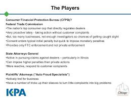 consumer fraud bureau unfair and deceptive acts practices seminar chicago automobile tr