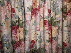 Lined Cotton Curtains Pair Vintage Double Lined Cottage Cotton Curtains Francis Price
