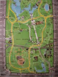 Central Park New York Map by Central Park Map Map Of Central Park
