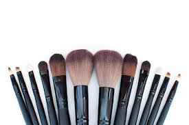 makeup artist accessories brushes set for professional makeup artist stock photo image of