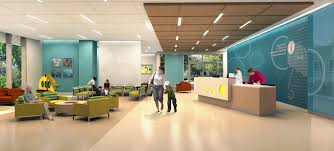 interactive corporate lobby design search environments