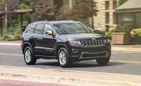 gray jeep grand cherokee with black rims 2014 jeep grand cherokee hemi v 8 test u2013 review u2013 car and driver