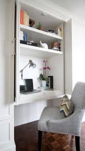hidden office desk small room ideas small workspace kitchen cupboards and pocket doors