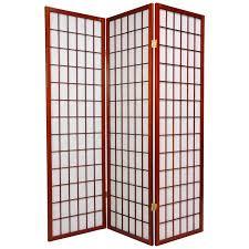 oriental furniture window pane shoji room divider hayneedle