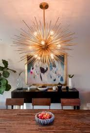 Lighting Dining Room by This Gorgeous Sunburst Ceiling Light Was Created Using A Hampton