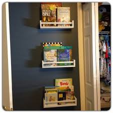 do it like doli ikea hack spice rack turned bookshelves