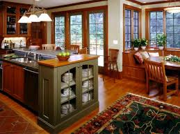 mission style kitchen island craftsman mission style kitchen design hgtv pictures ideas hgtv