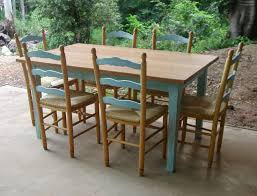 Best Painted Dining Set Images On Pinterest Dining Table - Country style kitchen tables
