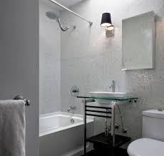 what is mosaic tile bathroom contemporary with console sink glass
