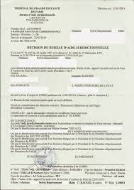 bureau d aide juridictionnelle versailles reponse a maitre tricaud suite a ses menaces de poursuites en