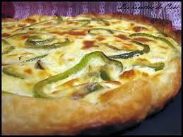 cuisiner des poivrons verts recette de quiche au thon féta poivron vert