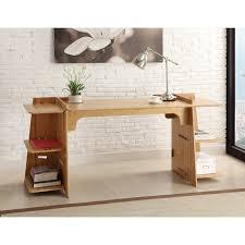 idabel dark brown wood modern desk with glass top fresh modern glass computer desk interior design and home