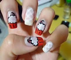 stylish new eid nails arts pictures designs for girls