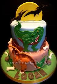 dinosaur cakes coolest dino mite dinosaur birthday cake