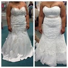 davids bridal wedding dresses david s bridal plus size wedding gown let me see pics weddingbee
