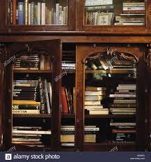 mahogany bookcase with glass doors decoration ideas cheap simple