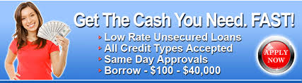 different loan choices for with bad credit