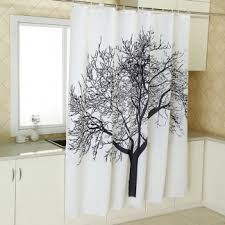 Tree Curtain Buy Bathroom Shower Curtains Hooks Liners Online Zapals