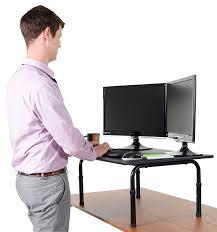 standing computer desk amazon 32 inch high desk home furniture decoration