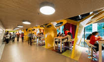 Google Ireland Office Dock Food Dock Food Restaurant Leisure Evolution Design