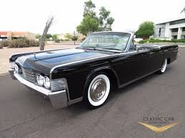1965 lincoln continental convertible triple black absolutely