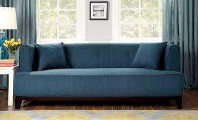 Teal Couch Slipcover Amazon Com Furniture Of America Elsa Neo Retro Sofa Teal