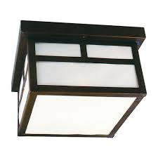 Lowes Porch Lights by Flushmount Outdoor Ceiling Light Cr Z1843 7 Destination Lighting