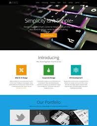 one page template free resume