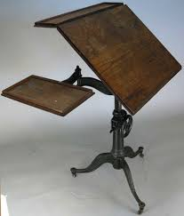Drafting Table Mat Antique Cast Iron Industrial Drafting Table Drafting Table