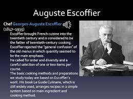 cuisine escoffier intro to gastronomy ppt