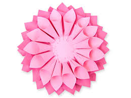 paper flowers diy dahlia paper flowers how to make large paper dahlias