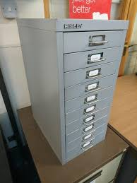 Bisley 10 Drawer Filing Cabinet Bisley Filing Cabinet Second Hand Office Equipment Buy Sell And