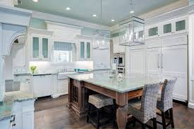 Turquoise Kitchen Island by White U0026amp Turquoise Coastal Florida Kitchen With Amazonite