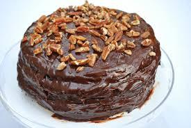cheese please dark chocolate caramel turtle cake