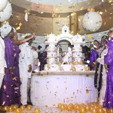 nigerian news see massive 80th birthday cake of billionaire baba