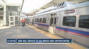 denver light rail hours new rtd light rail service to dia brings new opportunities youtube