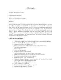 Resume Job Duties 10 Best Images Of Job Duties Resume Restaurant Hostess Job