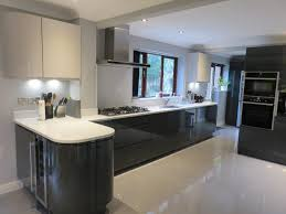 fitted kitchen ideas appealing kitchen ideas glos anthracite and handle
