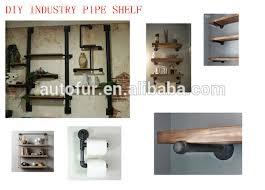 Black Pipe Bookshelf Diy Industrial Black Iron Pipe Multi Racks Book Shelves Buy