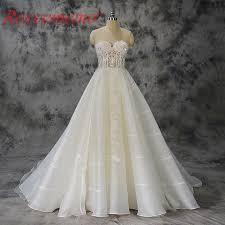 custom made wedding dress 2017 special lace transparent top wedding dress design bridal