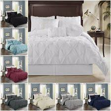 Pinched Duvet Cover Microfiber Duvet Covers And Bedding Set Ebay
