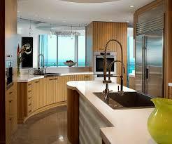 solid wood kitchen island cabinets u0026 storages half rounded modern solid wooden kitchen