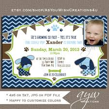 adoption party invitations dog birthday party invitations puppy birthday party invites