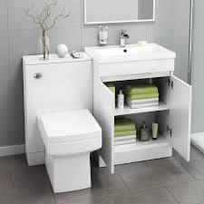 Combination Vanity Units For Bathrooms Modern Bathroom Toilet And Furniture Storage Vanity Unit Sink